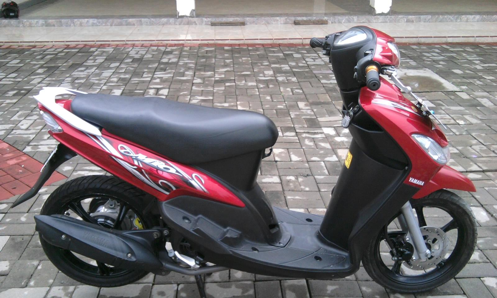Gambar Sepeda Motor Mio 2011 Terkeren Gentong Modifikasi